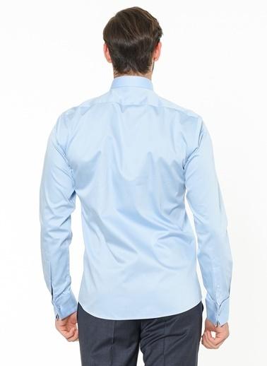 Beymen Business Uzun Kollu Klasik Gömlek Mavi